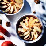 Bagt grød med gulerod, æble og chia