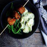 Borlotti-bites med grønsager