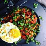 Baked beans deluxe med grønsager