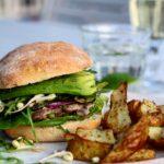 Sandwich & urtekartofler