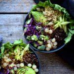 Linse-quinoa salat