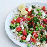 Kartoffelsalat med kikærter & syrlig sennepsdressing – VEGETARISK