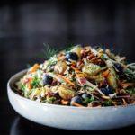 Kartoffelsalat med kål & mormordressing