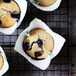 Sundere blåbærmuffins