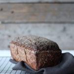 Rugbrød med surdej og hampefrøskaller
