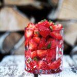 Råmarinerede jordbær