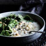 Grøn linsesuppe
