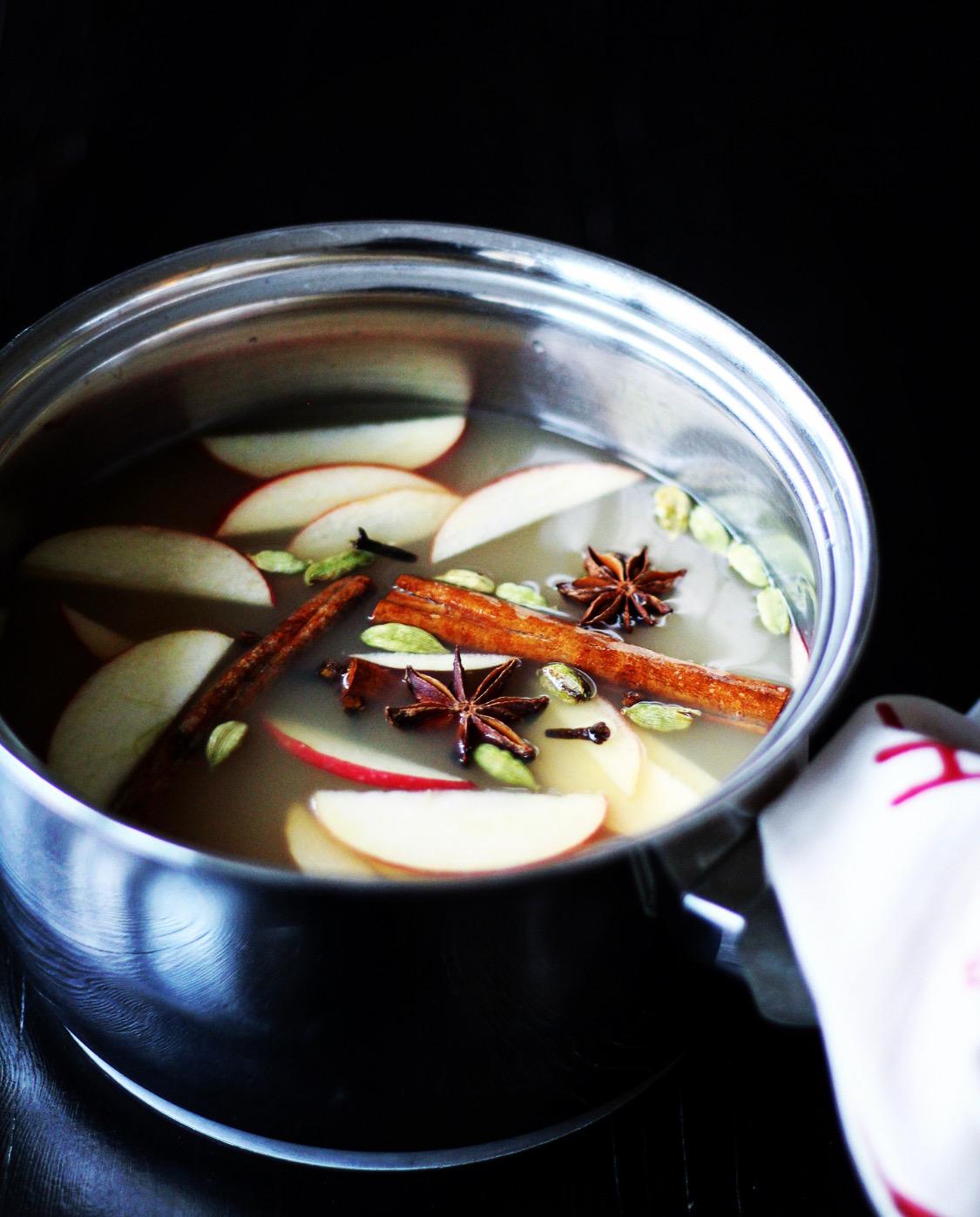 Æblegløgg