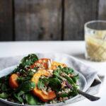 Græskarsalat med quinoa og perlebyg