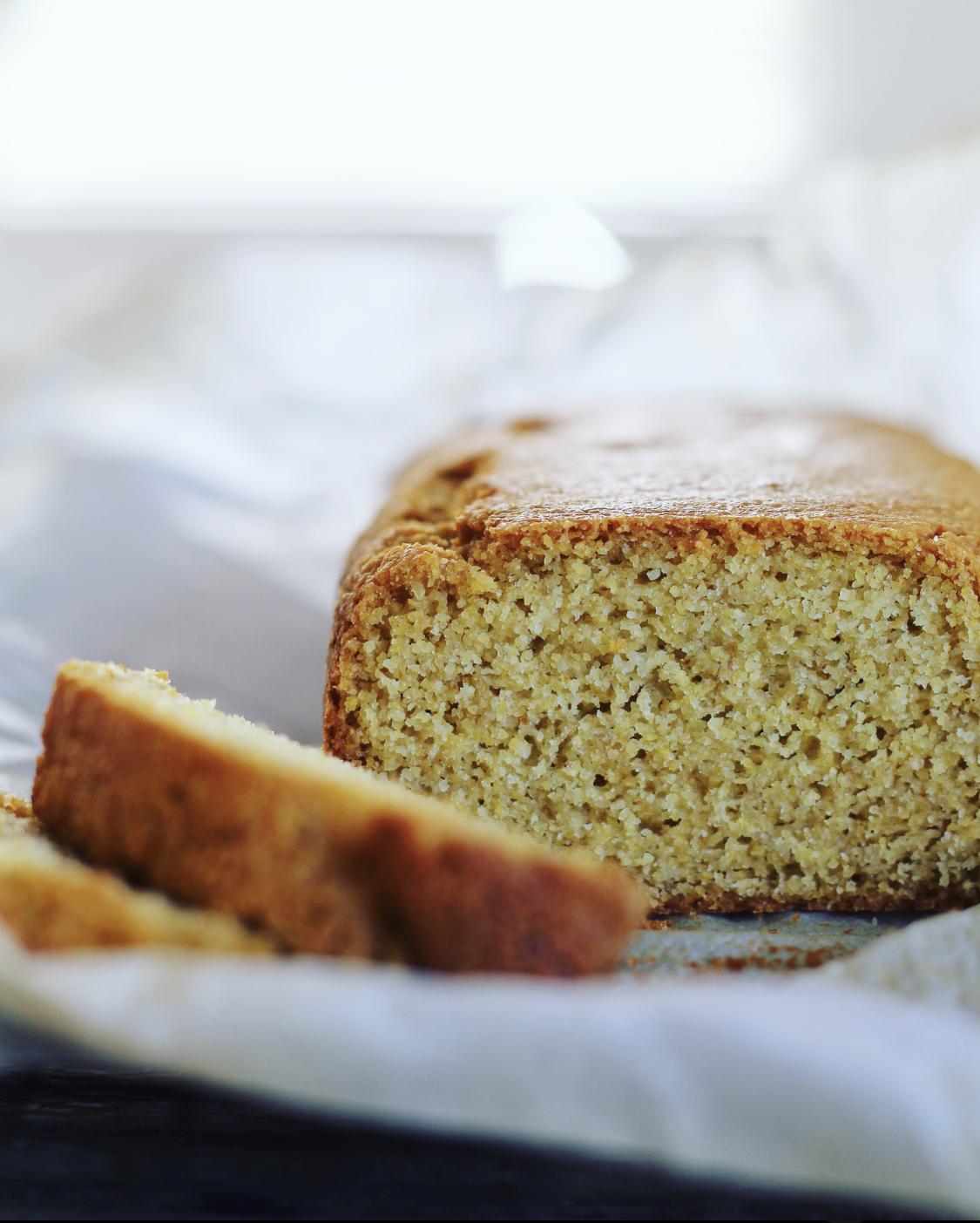 Cornbread ~ groft majsbrød