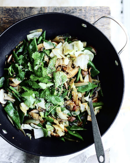 Vegetarisk woksauce