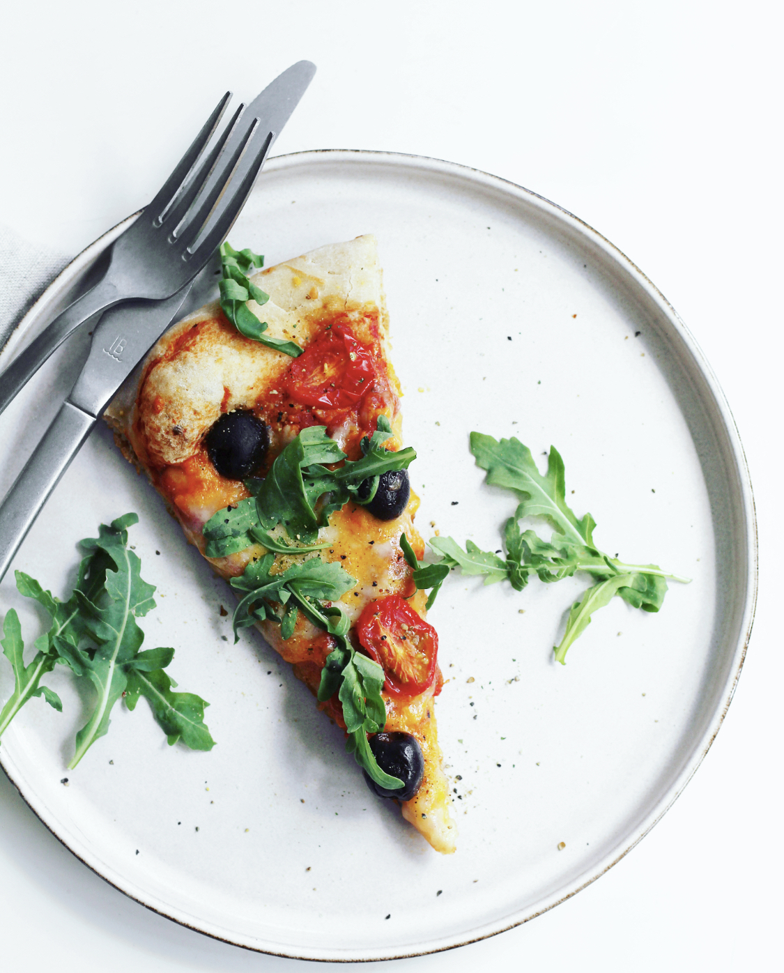 Sprød pizza med fuldkorn
