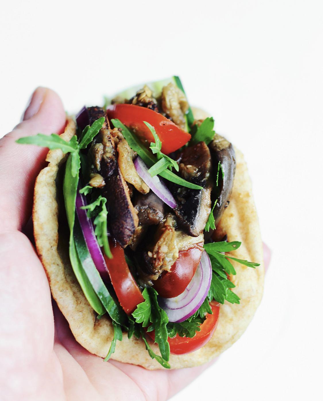 Vegetarisk kebab